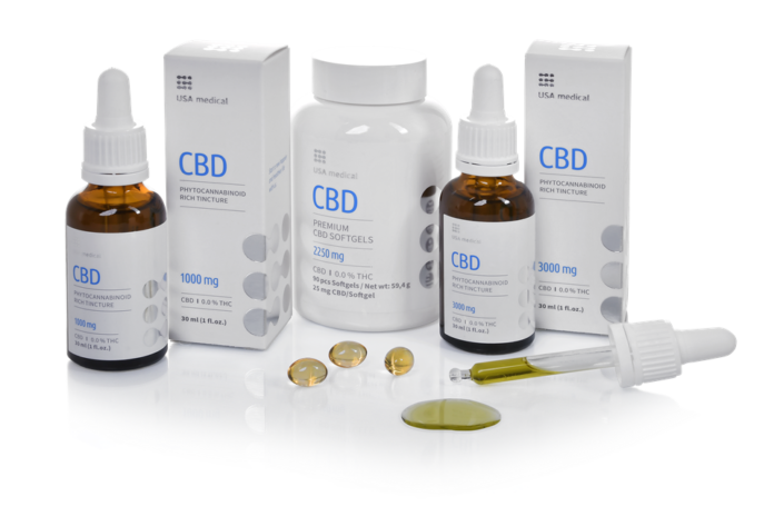 USA Medical cbd termékek